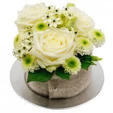 bloementaartje wit