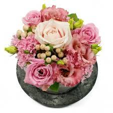 Bloementaartje met roze bloemen