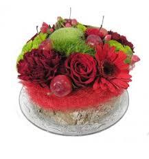 bloementaartje rood