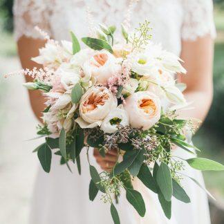 romantisch bruidsboeket